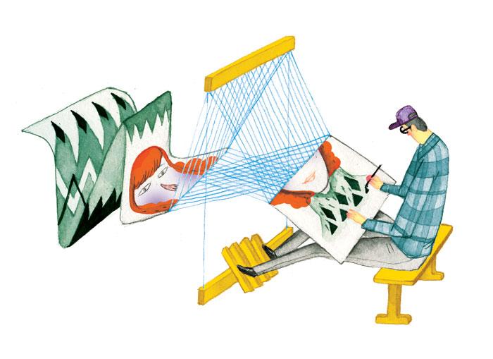 Textile Printing. Editorial, Capilano Courier