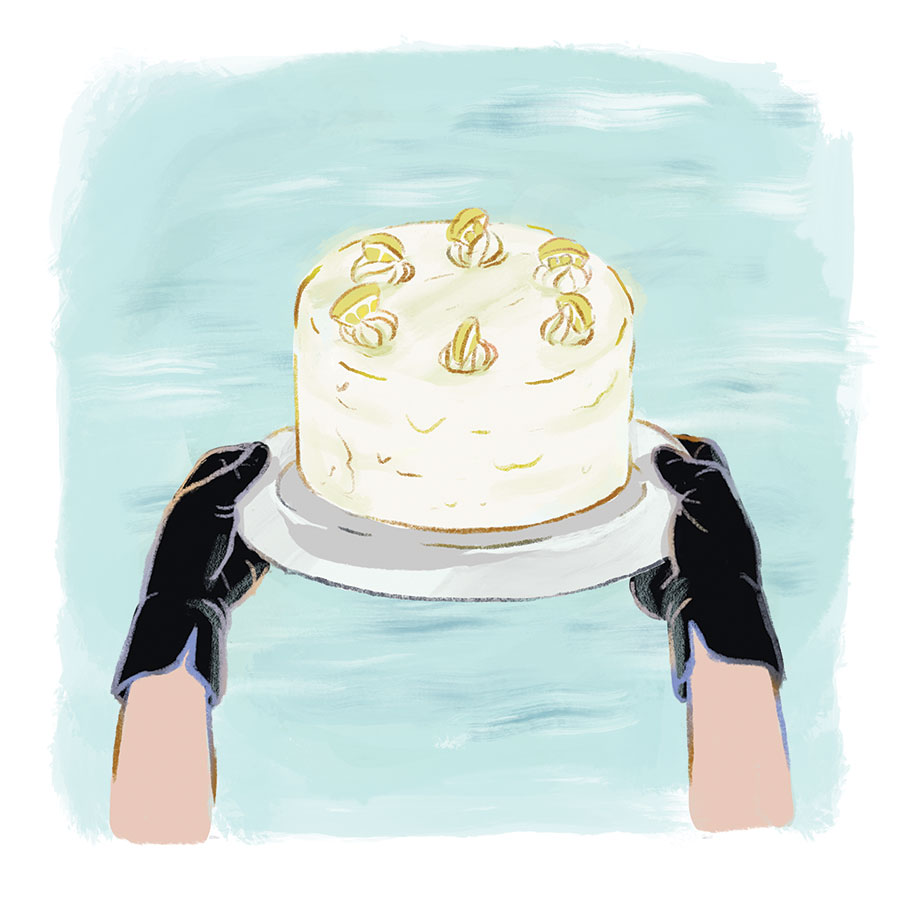 """ Lemon Layer Cake "" by Nico Shreibak"