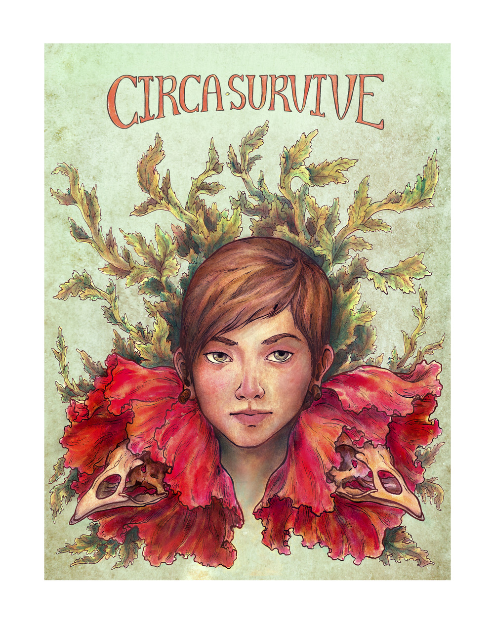 Self assigned project: create a poster for the band Circa Survive  2013