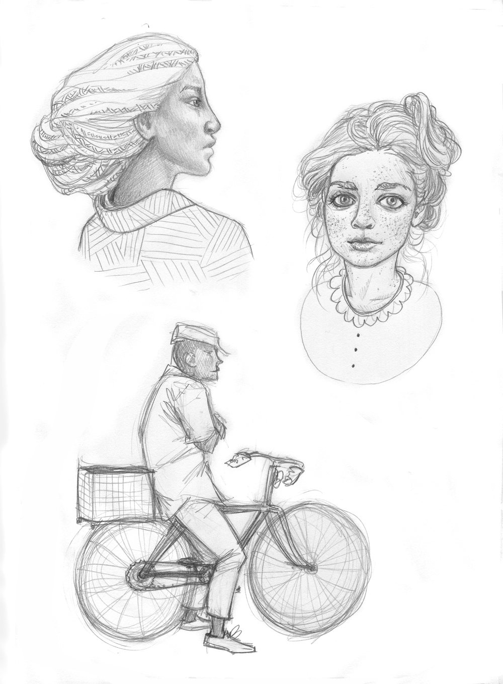 people sketches 2014