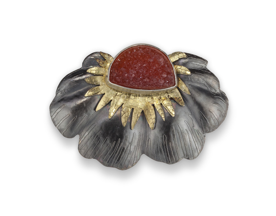Flower Pin with Red Stone.jpg