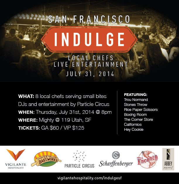 Indulge Invite