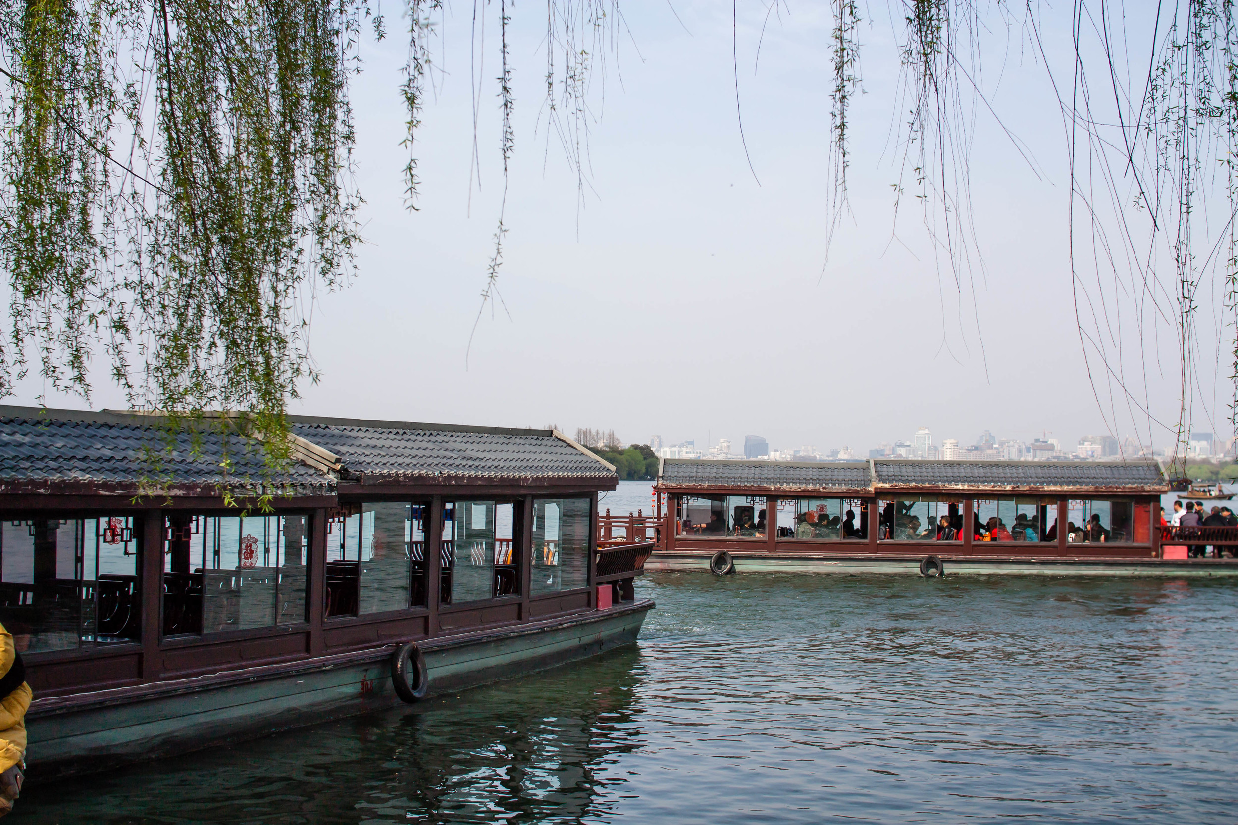 Boat Ride Across West Lake