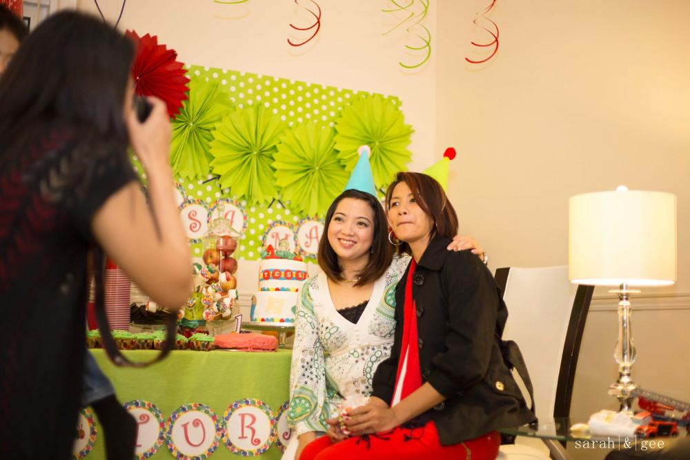 Tessa's birthday party