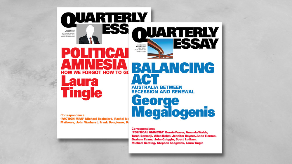 quarterly essay magazine