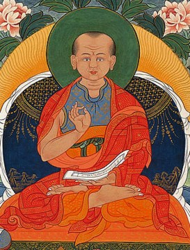 Bluesmaster geshe langri tangpa, expounder of the practice of lojong, a buddhist method for transforming everything that sucks into a meaningful experience.