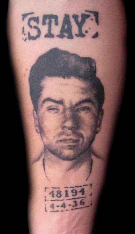 Lucky Luciano Tattoos