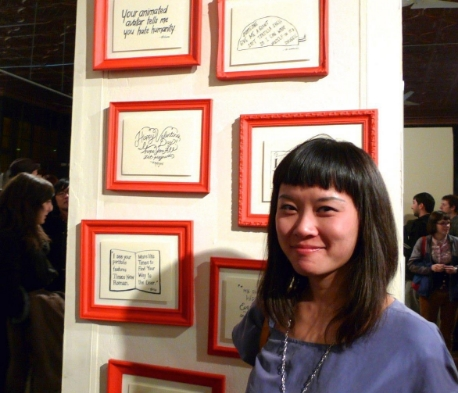 Jennie Li, Typeforce 2012.