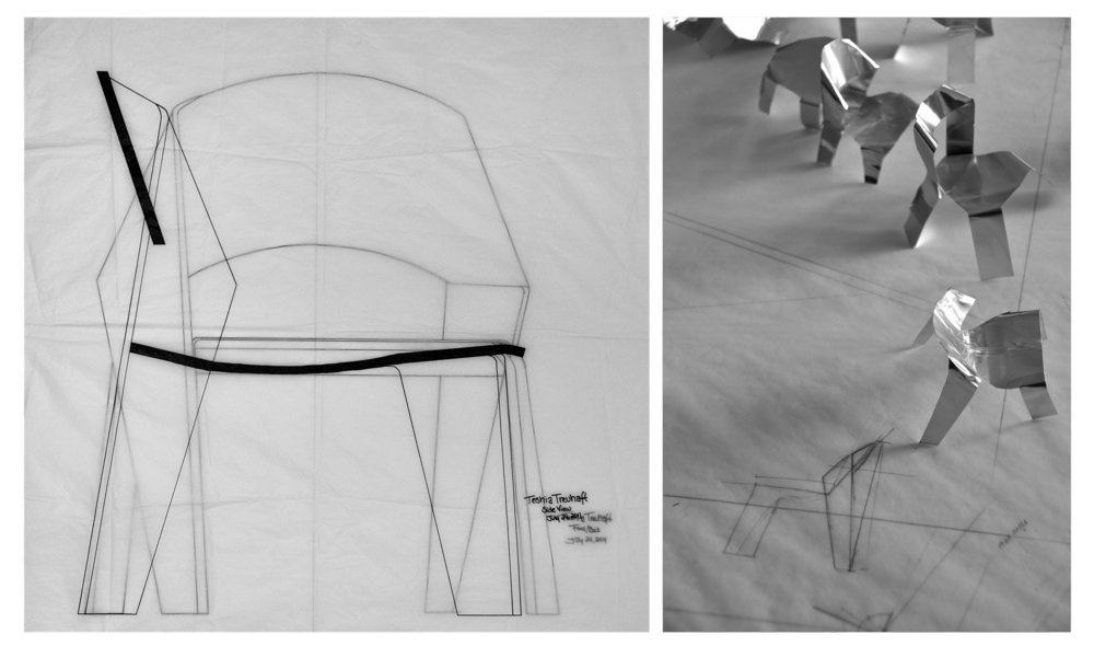 Copenhagen Chair Sketches | 2011