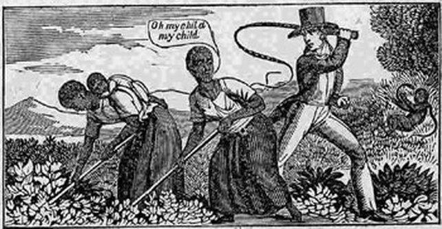 19th Century Abolitionist Woodcut