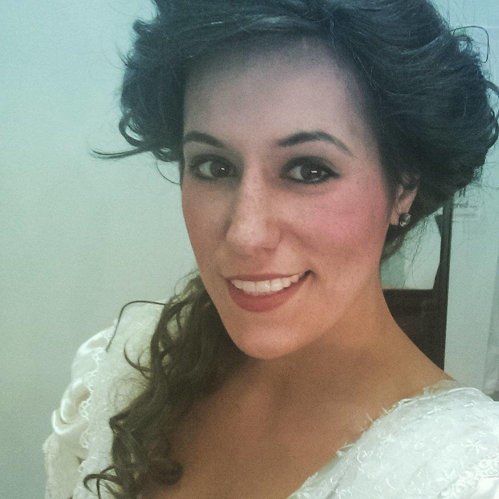 Backstage Selfie as Zerlina