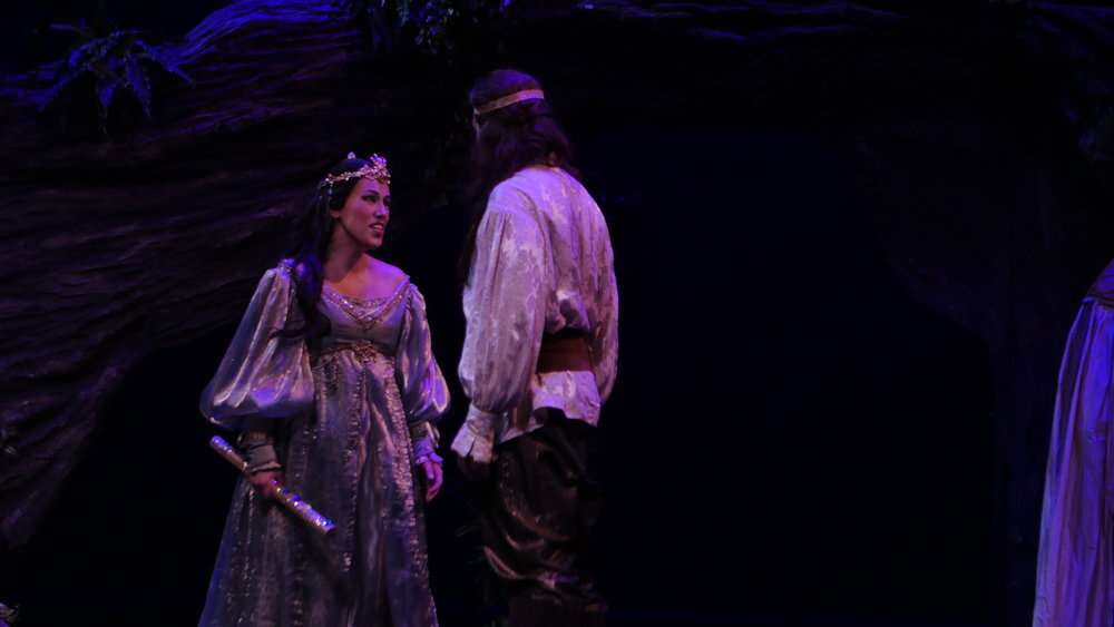 As Pamina in The Magic Flute with Shreveport Opera