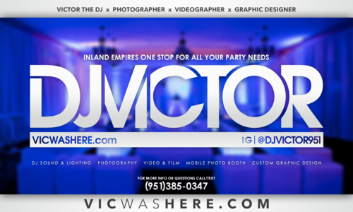 Tdub entertainment business cards dj victor business card 1 frontg reheart Gallery