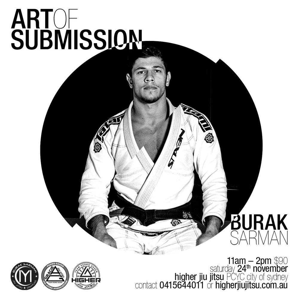 Burak Sarman Art of Submission Seminar