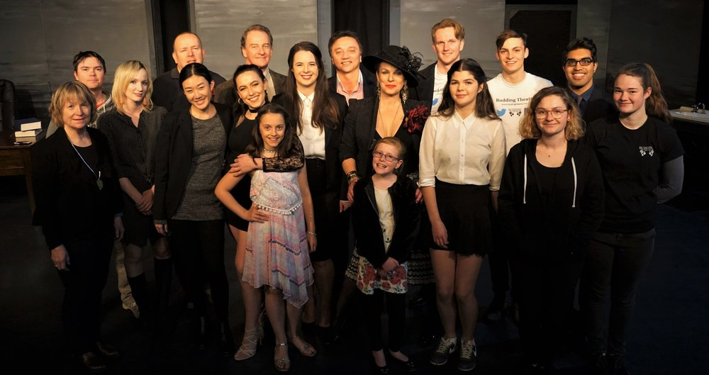 The Inheritance Budding Theatre Canberra Cate Clelland Greg Gould Kirsty Budding Jess Waterhouse Linda Chen John Kelly Rob Defries Vivien Murray Alexandra Howard Erin Stiles Victoria Hopkins Martha Russell Glynis Stokes Patrick Galen-Mules Andrew Howes Vivek Sharma Ashleigh Robinson Craig Muller Belconnen Theatre