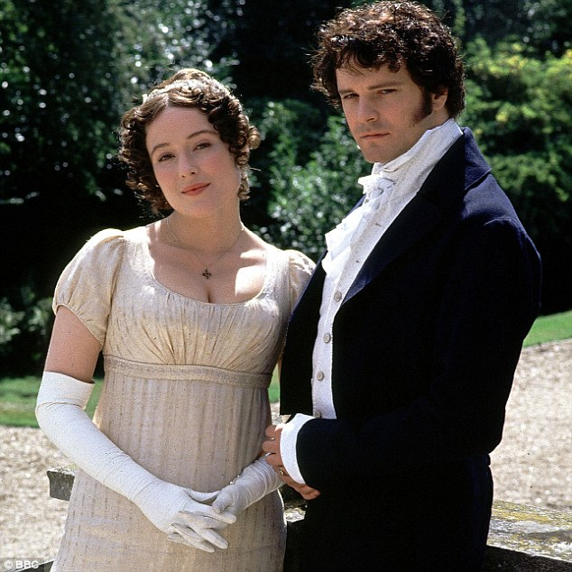 Jennifer Ehle and Colin Firth as Elizabeth Bennet and Mr Darcy (1995)