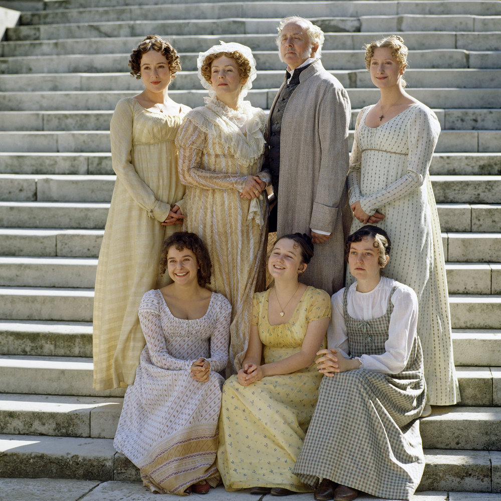 The Bennet family as depicted in the 1995 BBC adaptation.