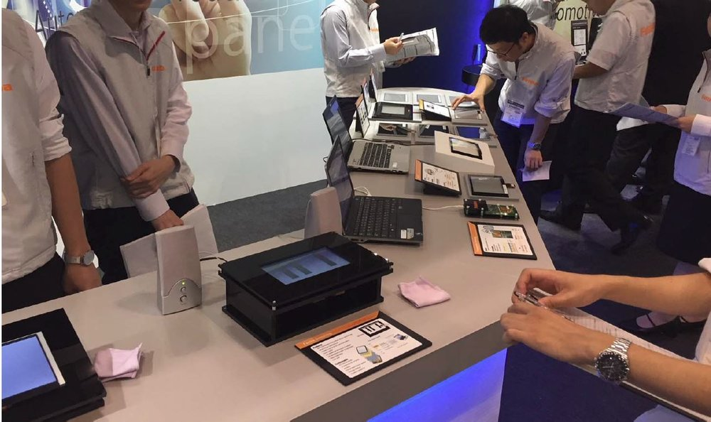 Interactive touch demos engage visitors to CEATEC 2017