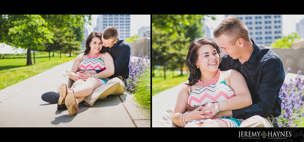 Emily + Chris Downtown Canal Indianapolis, IN Engagement Pictures 19.jpg