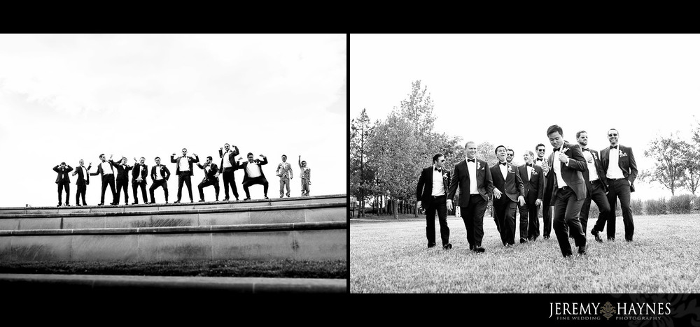 fun-groomsmen-wedding-pictures-coxhall-gardens