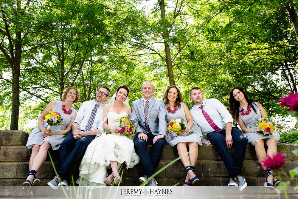fun-indianapolis-arts-center-bridal-party-pictures