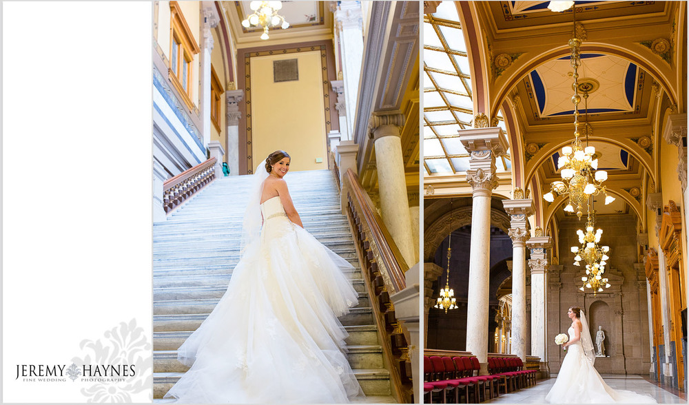 Indiana State Capitol Building Wedding
