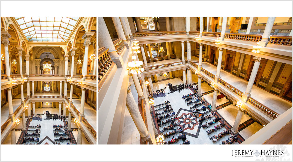 wedding-indianapolis-state-capitol