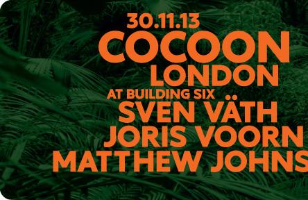 Cocoon de Ibiza a Londres: super evento na Arena da O2 em Londres.