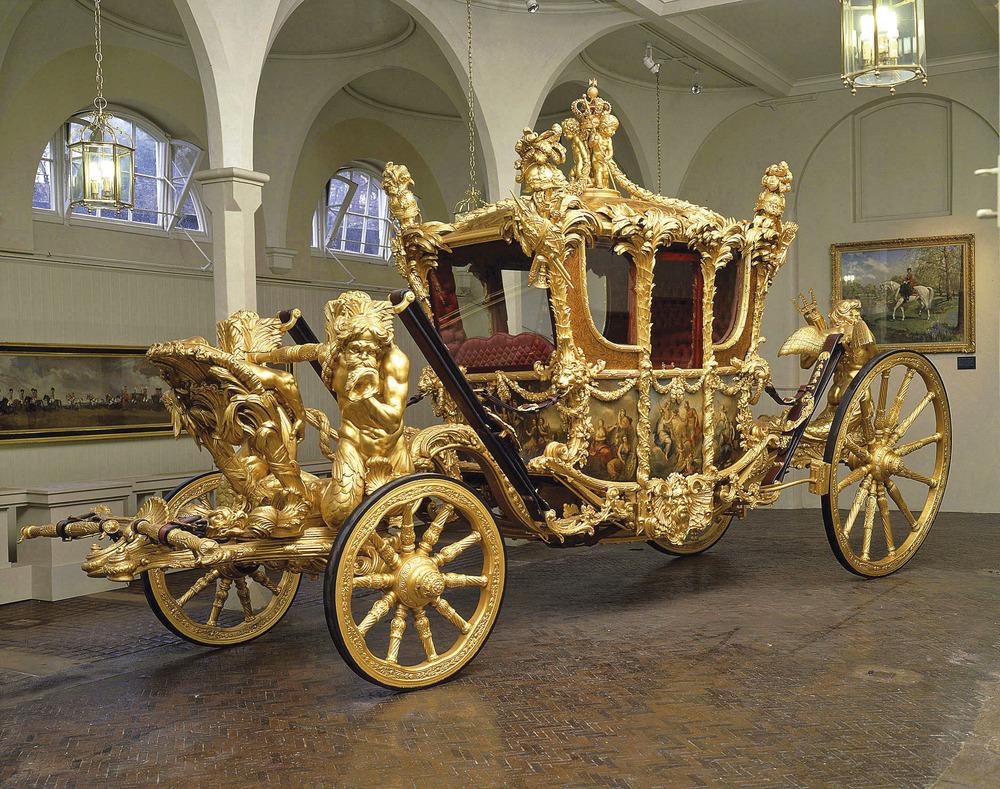 Carruagem Rainha Elizabeth II