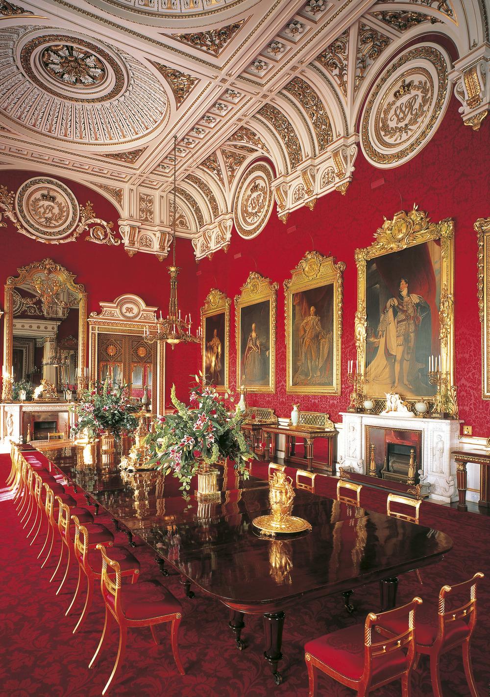 Sala Jantar Buckingham Palace