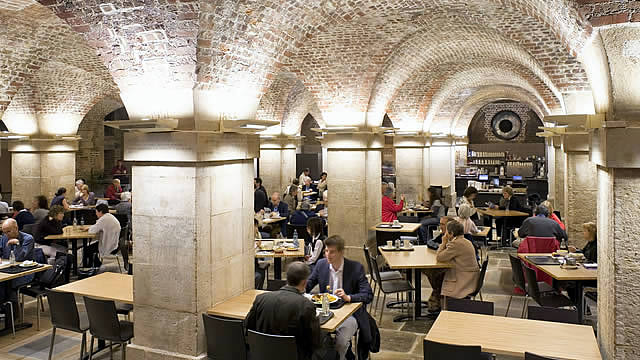 Café in the Crypt / St Martin-in-the-Fields Church