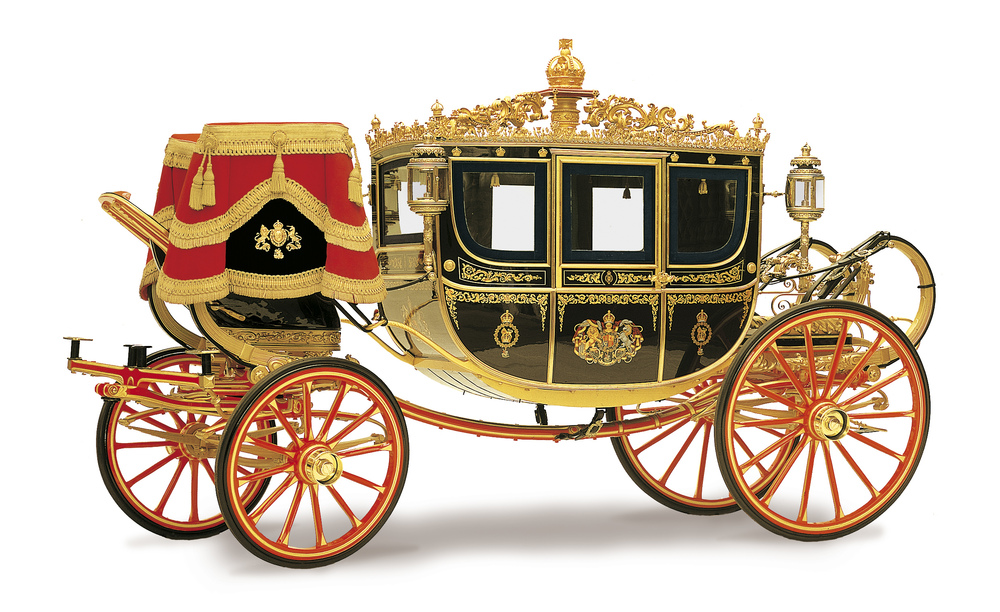 Carruagem Rainha da Inglaterra