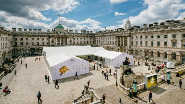Photo London at Somerset House. Image courtesy of Photo London