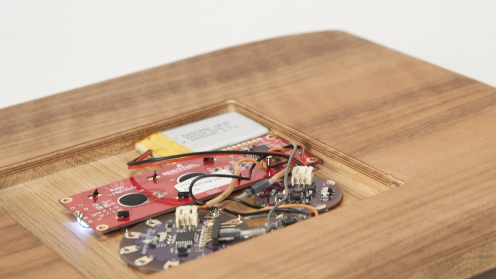 Secret recipe cutting board by Bella Rudics