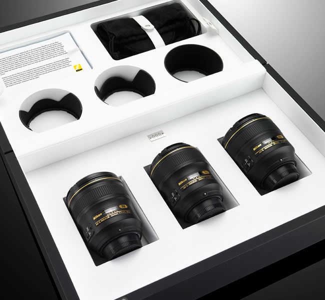 Nikon prime lenses set