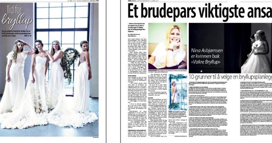 I april 2017 fikk vi hele forsiden + dobbeltside inne i Byavisen Fredrikstad.