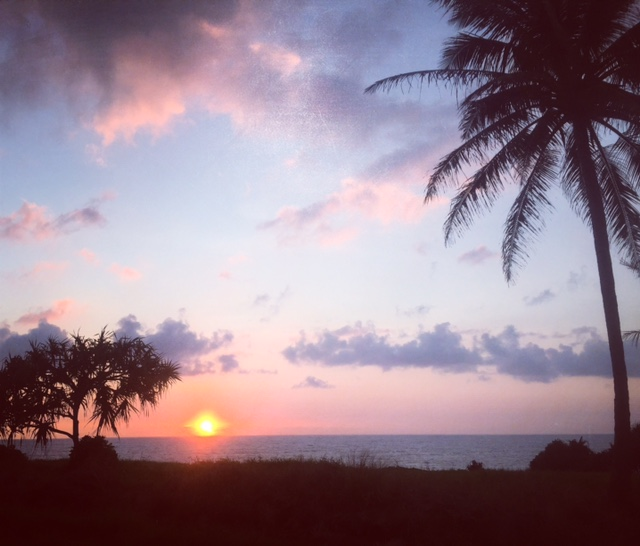 Sunrise from Hana