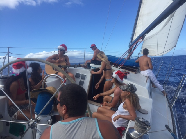 Playing my songs for friends on the ocean has been a major highlight.