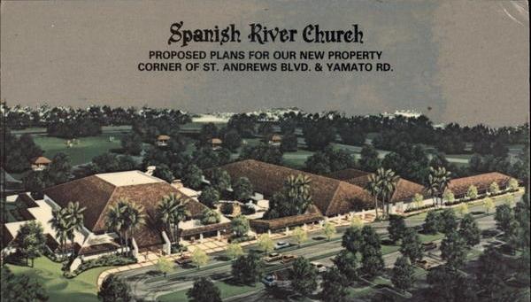 Circa 1985 postcard