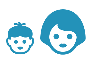 Children + Parents Icon