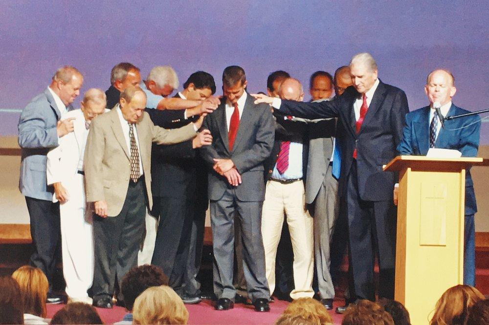 Tommy Kiedis'installation as Senior Pastor.
