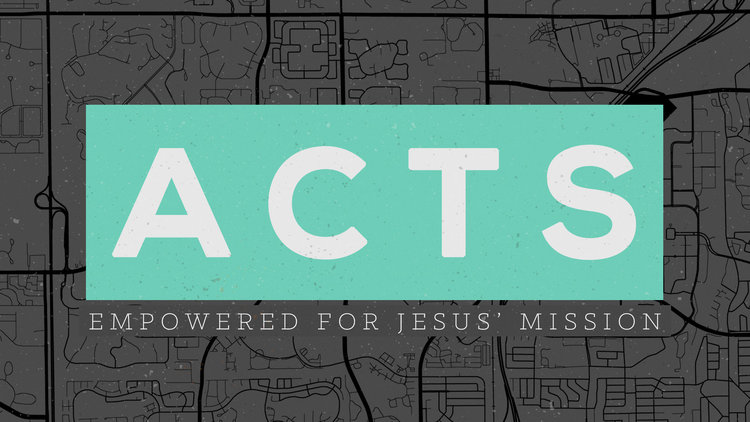 Copy of Acts: Empowered for Jesus' Mission