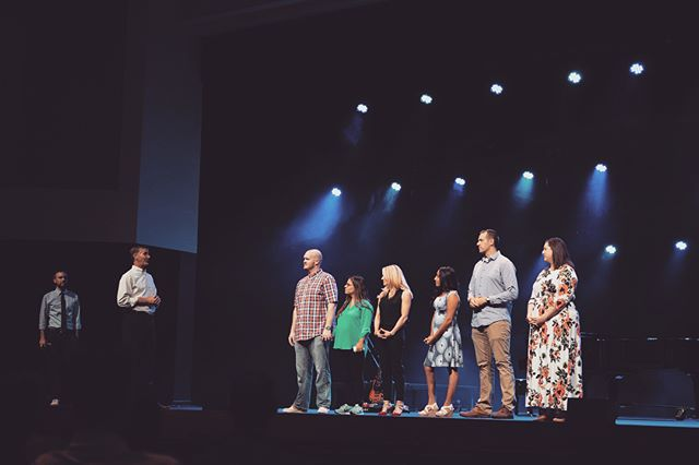 Yesterday we welcomed in some new family members! It is never just another Sunday at Spanish River Church.⠀ ⠀ #spanishriverchurch