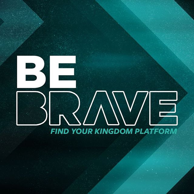 "Tomorrow we're kicking off our two-part series entitled ""Be Brave."" We can't wait to hear the message that Tommy has for us. See you all soon!"