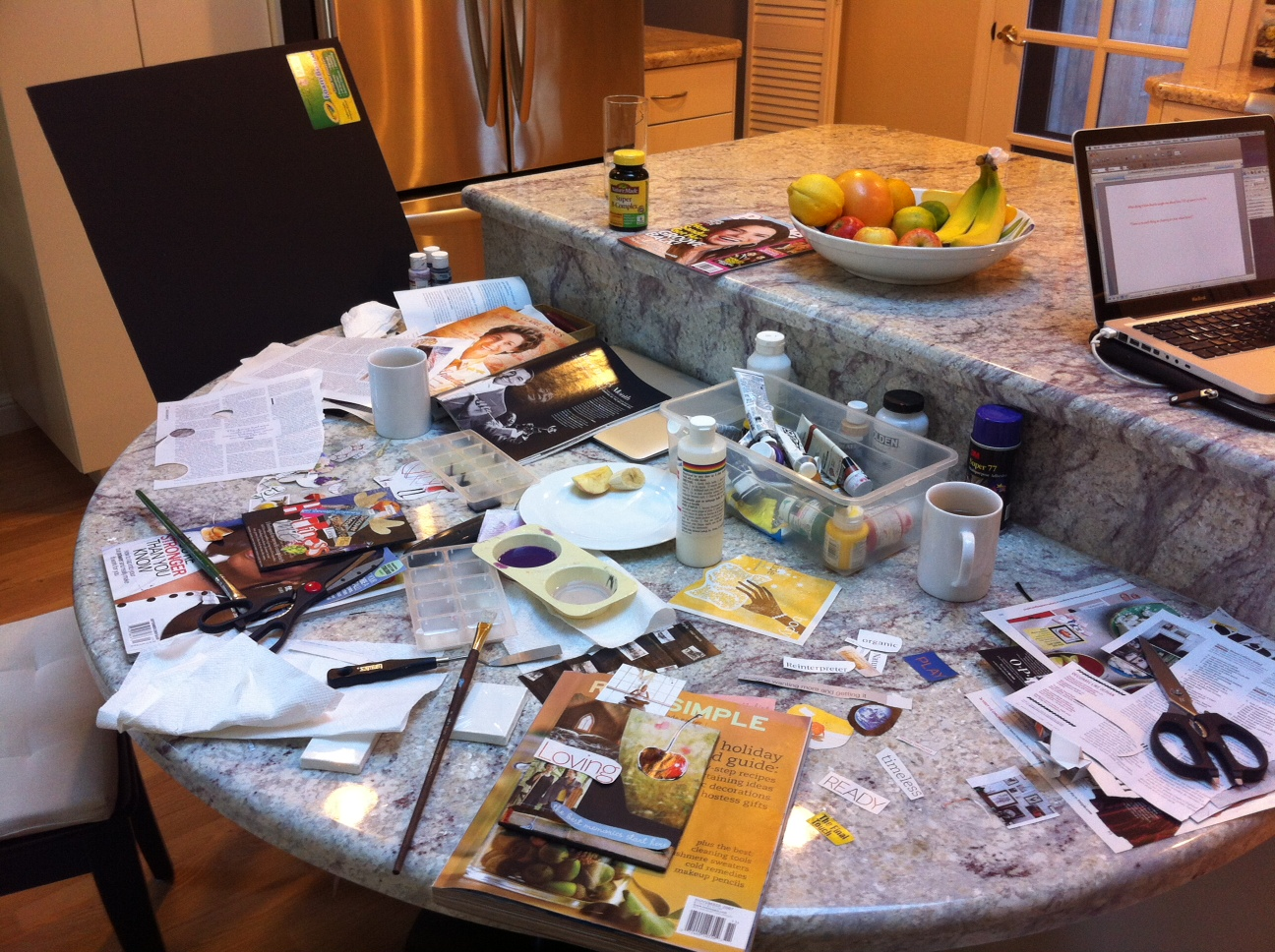 Vision Board Table