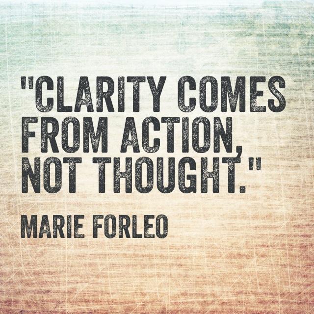 Marie Forleo quote