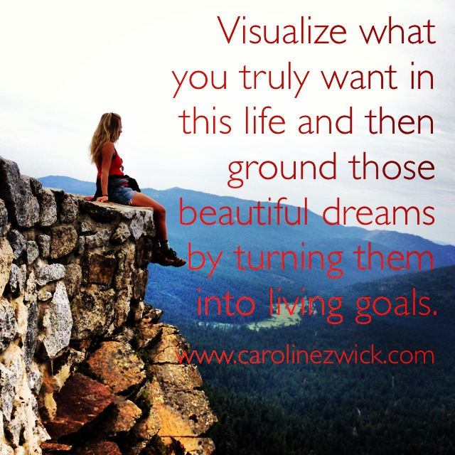 Visualization and goals