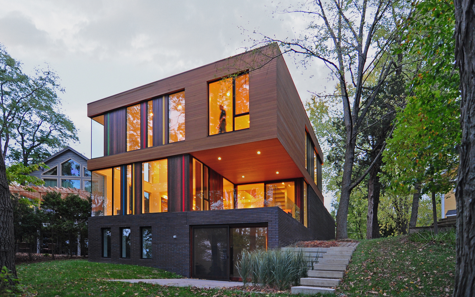 Redaction House Oconomowoc Wisconsin Johnsen Schmaling Architects