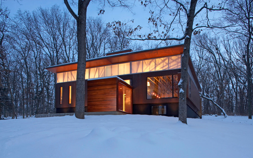 Johnsen schmaling architects for Best rated windows for new home construction