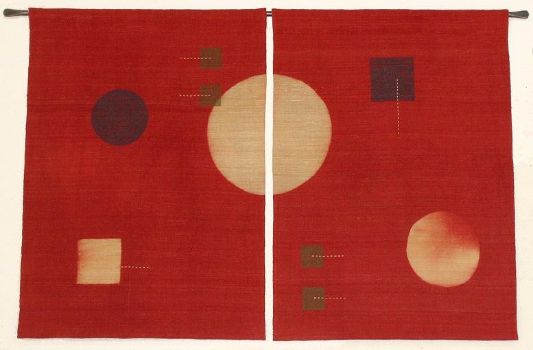 Silk panels, 2011